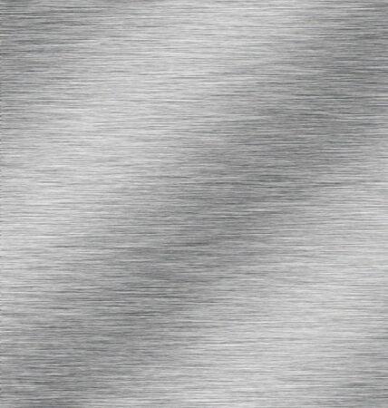 Glimmende metalen oppervlak Stockfoto