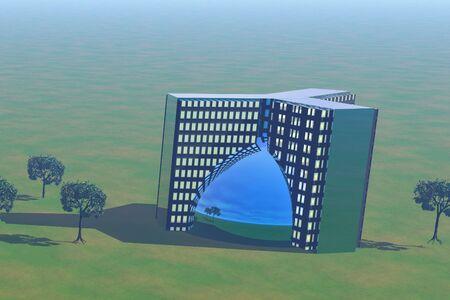 Office Building 版權商用圖片