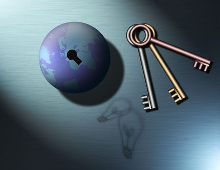 dreamlike: Symbols for creativity and thought as the keys to unlock the world