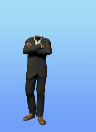 niewidoczny: Puste Suit Zdjęcie Seryjne