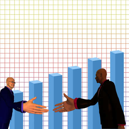 race relations:  Diversity Business Handshake Stock Photo