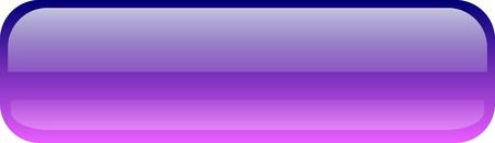Vector Glass Purple Pill Button