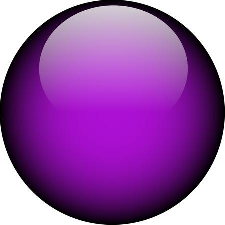 Vector Glass Button