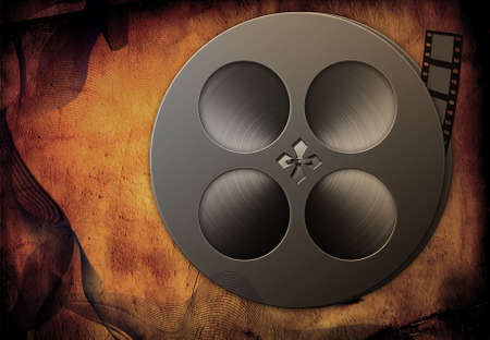 Grunge Film Standard-Bild - 2014407