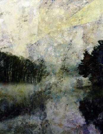 Landscape Impression Stock Photo