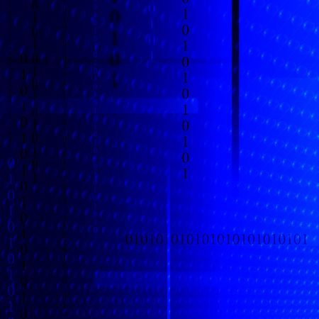 computations: Blue Tech Stock Photo