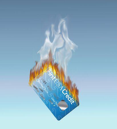 Burning Credit Card
