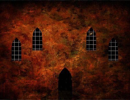 abbey: Mosque, monastery or church Stock Photo