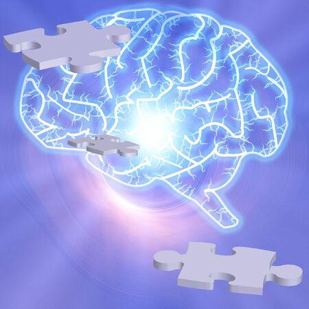 Brain Puzzle photo