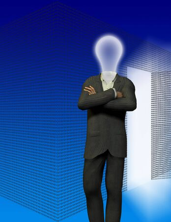 Binary room and idea man