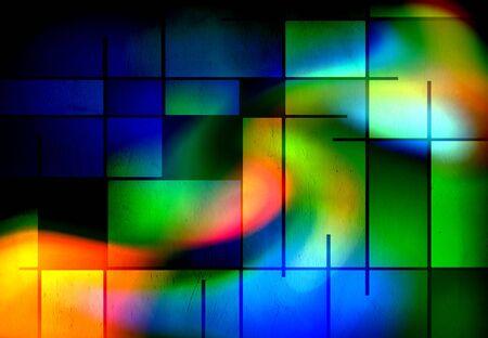 modernism: Rectangular Abstract