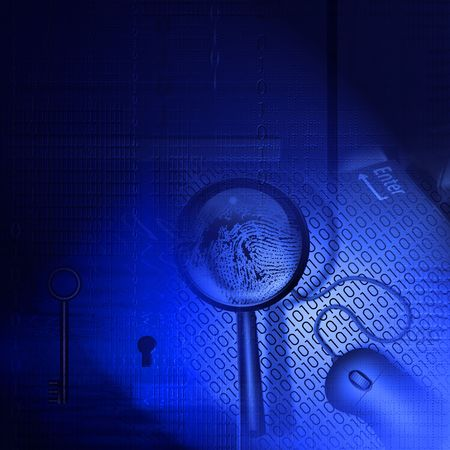 databank: Technology Composition Stock Photo