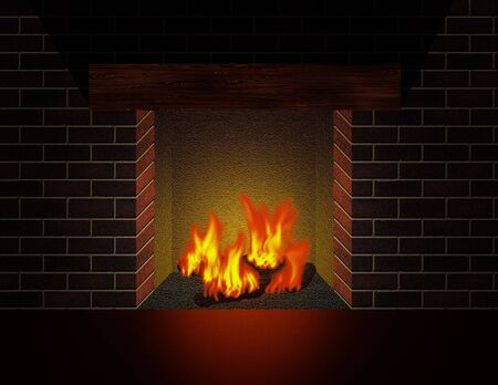 Fireplace Stock Photo - 2109864