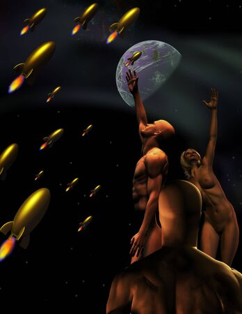 rapturous: Science Fiction Scene