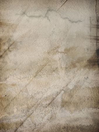 그런 시멘트 벽