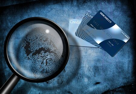 data theft: Credit and identity or investigation