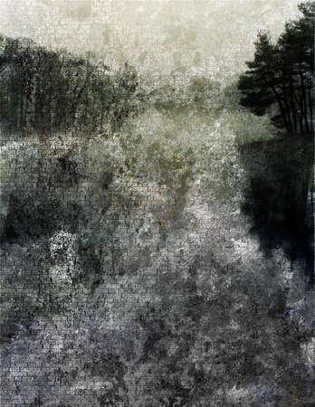 reflection:  Impressionist Landscape