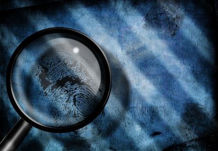 mystery: Finger print investigate