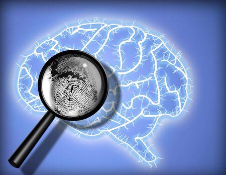 Brain Fingerprint - Identity - Psychoanalyse