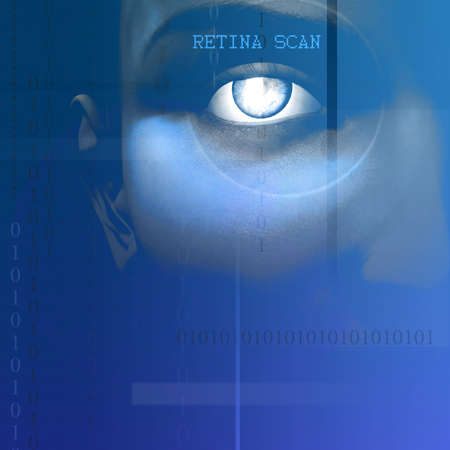 Eye Scan Stock Photo - 2215620