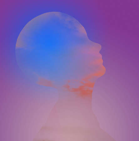 Hi-Res Head Abstract photo