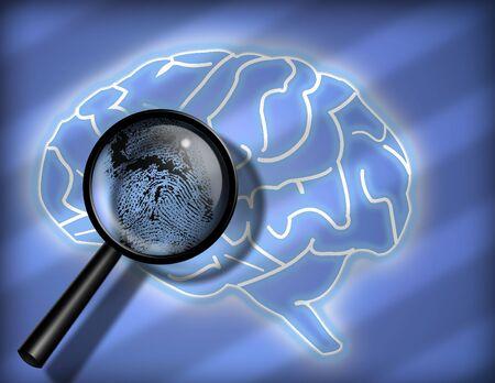 subconscious: Brain Finger print