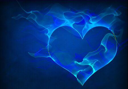heartache: Blue Heart