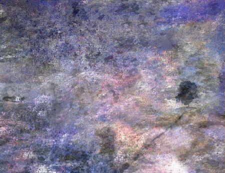 muted: Impression Landscape Stock Photo