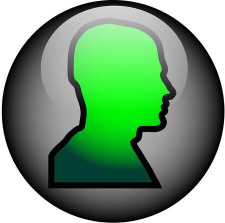 Head WebButton Ilustração