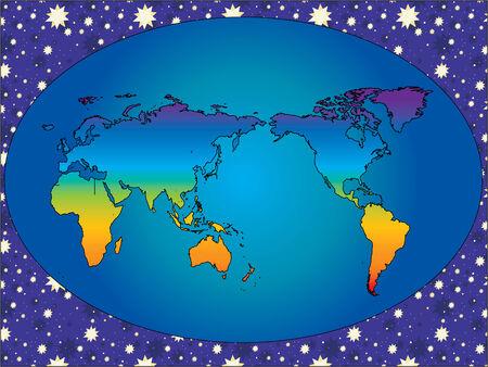 Rainbow Earth Stock Vector - 2327478