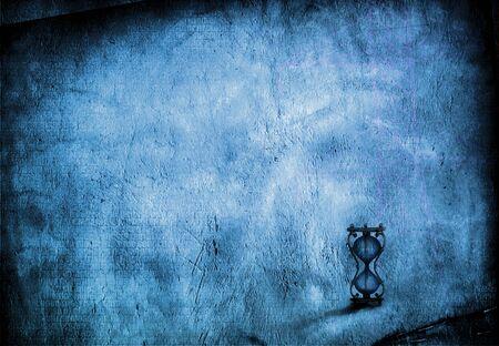 Grunge Hourglass Background photo
