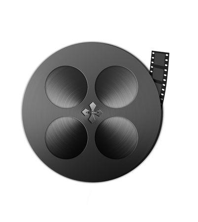 16mm: Large hires film reel