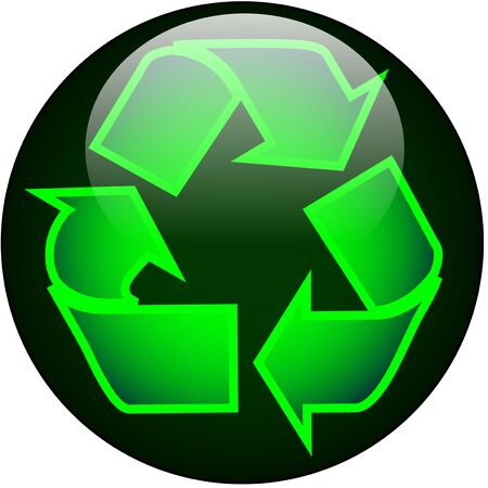 Recycle Web Button Stock Photo - 2366131