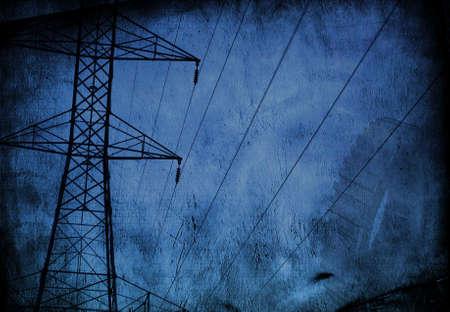 site: High Tension wire Grunge