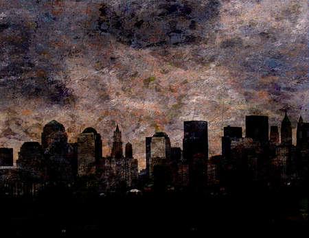 City Painting photo