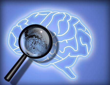 Brain - Personality - Identity photo
