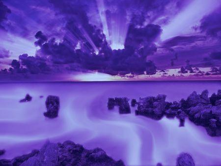 Surreal Ocean photo