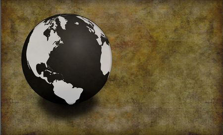 Earth Grunge photo