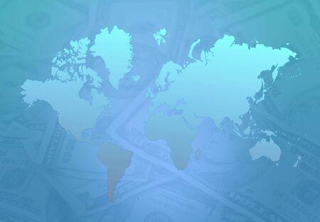 Earth Map Money