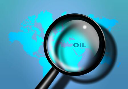 middle east: Middle East Oil Stock Photo