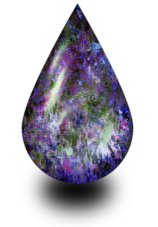 Opal Drop Stock Photo - 2977964