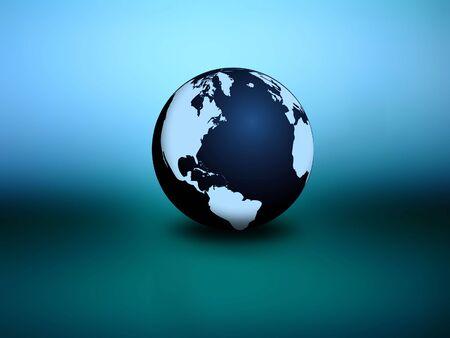 sleek: Sleek Earth Stock Photo
