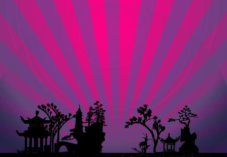 japanese garden: Rising Sun