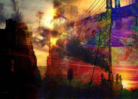 Abstract City Stock Photo - 3363969