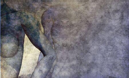 Arrière-plan de beauté bleu grunge Banque d'images - 3710849