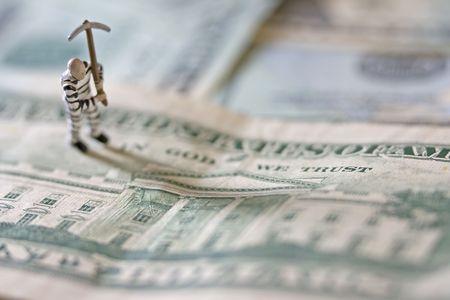 Prisoner on US banknotes photo