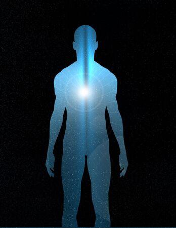 Human reveals Inner Light
