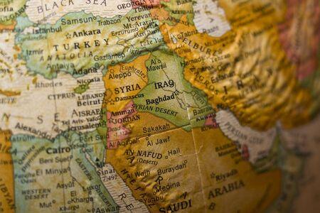 Syrië Midden-Oosten Stockfoto