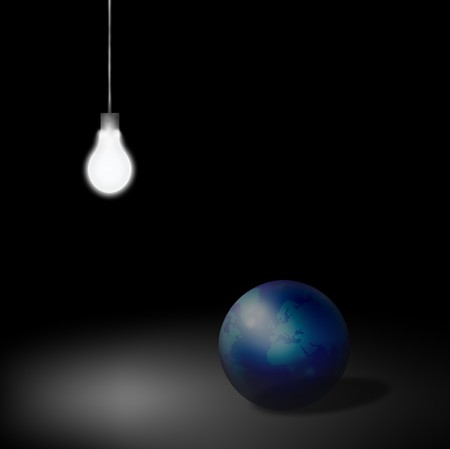 World Idea Stock Photo - 4138895