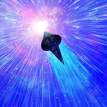 singularity: Space Craft Approaches Singularity